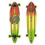 Santa Cruz Mahaka Rasta Fade Pintail Cruzer Complete Skateboard, Assorted, 39.0in' L x 9.58in' W