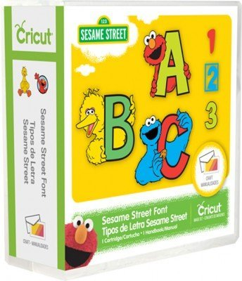 Sesame Street Font Cricut Cartridge by Cricut