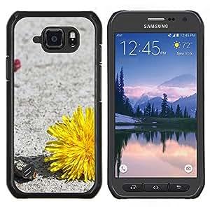 LECELL--Funda protectora / Cubierta / Piel For Samsung Galaxy S6Active Active G890A -- Planta Naturaleza Forrest Flor 34 --
