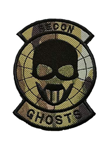 Ghost Recon Applique Military Hook Tactics Morale Embroidered Patch