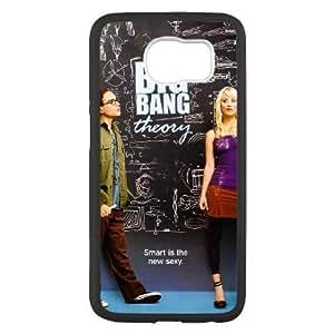 Genérica teléfono funda por Samsung Galaxy S6 Negro [duro Snap-On GDLADGJGS8688] Encargo The Big Bang Theory TEMPORADA tema [Solo por Samsung Galaxy S6 funda]