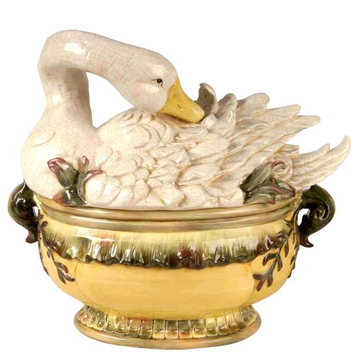 Goose Tureen w/ Ladel ()