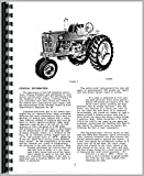 Farmall Super MTA Tractor Operators Manual