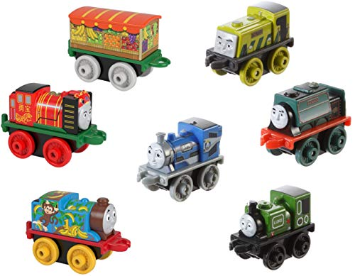 Fisher-Price Thomas & Friends MINIS, 7-Pack #4 (Fisher Price Thomas And Friends Minis 7 Pack)