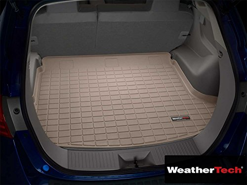 Brightt (WEA-RYF-405) Cargo Liner Mat Tan Behind 3rd Seat - Compatible For Chevrolet Venture - 2000 2001 2002 2003 2005 | 00 01 02 03 - Seat Behind 2000 3rd