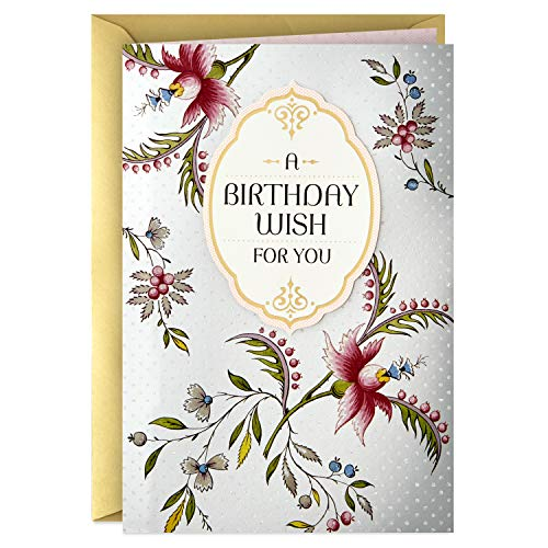 Hallmark Golden Thread Birthday Card (A Birthday Wish)