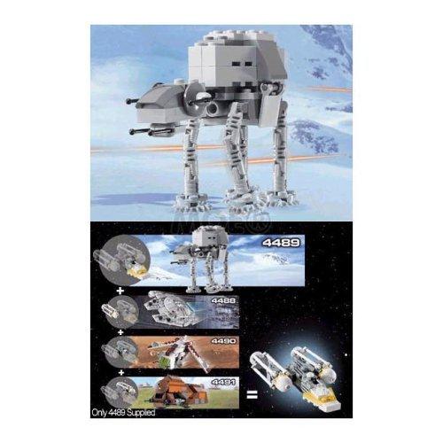LEGO Star Wars 4489: Mini AT-AT by LEGO   B01L4GX8BQ