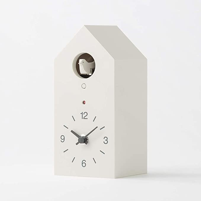 Amazon.com: MoMa MUJI White-hanging clocks cuckoo clocks NEW: Home & Kitchen