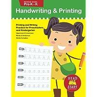 Handwriting & Printing workbook grades Pre-K - K: Printing and Writing Practice for Preschoolers and Kindergarten