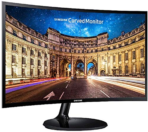 Samsung 27 inch (68.5 cm) Curved LED Backlit Computer Monitor - Full HD, VA Panel with VGA, HDMI,...