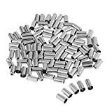 Baosity 100pcs/Set 5mm Bicycle Bike Brake Wire Cable Housing Ferrule End Caps Cover
