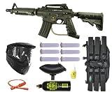 US ARMY Alpha Black Tactical Tippmann Paintball Mega Gun Set