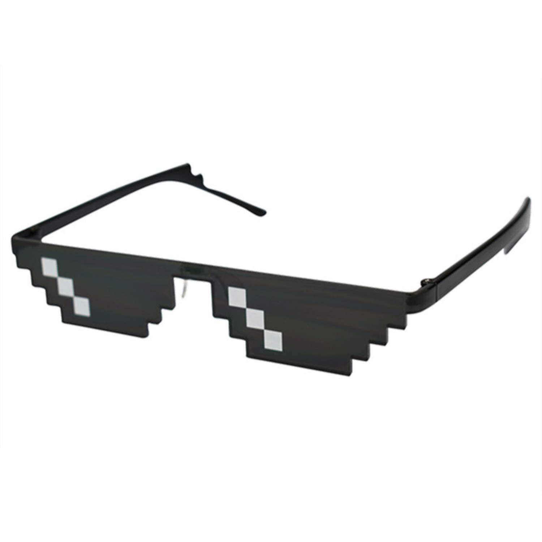 Amazon.com: Glasses Sunglasses Men Women Thug Life Party ...