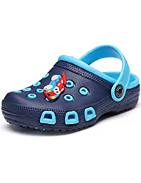 Kid's Cute Garden Shoes Cartoon Slides Sandals Clogs Children Beach Slipper