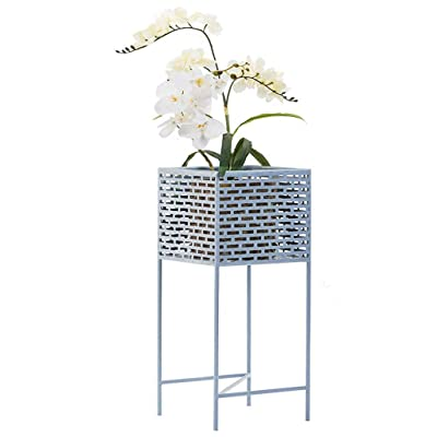 LRW Nordic Style Flower Stand Creative Simple Living Room Floor-Mounted Wrought Iron Flower Stand: Garden & Outdoor