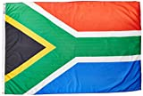 Annin Flagmakers Model 197568 South Africa Flag Nylon SolarGuard NYL-Glo, 4×6 ft, 100% Made in USA to Official United Nations Design Specifications Review
