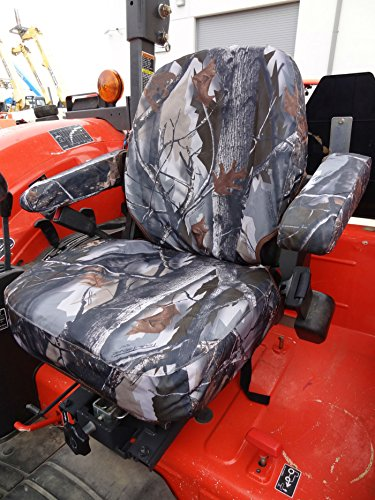 Durafit Seat Covers, KU05 SST FOR KUBOTA TRACTORS L45/M45.L48/M59.B25/B26 M108S LP MOWERS F2680/F2880/F3080/F3680 in SST Camo Endura ()