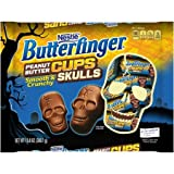 BUTTERFINGER Peanut Butter Cup Skulls 10.8 oz. Bag