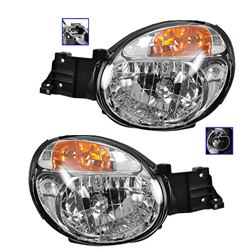Headlights Headlamps Left & Right Pair Set for 02-03 Impreza Outback WRX
