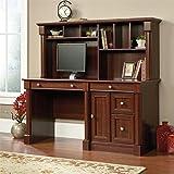 Sauder 420513 Palladia Computer Desk and Hutch, L: 59.49