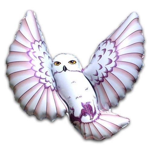 LA Balloons Foil Balloon 901624-BWN Owl - Brown, 38