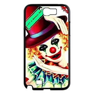 ANCASE Diy Phone Case Clown Pattern Hard Case For Samsung Galaxy Note 2 N7100