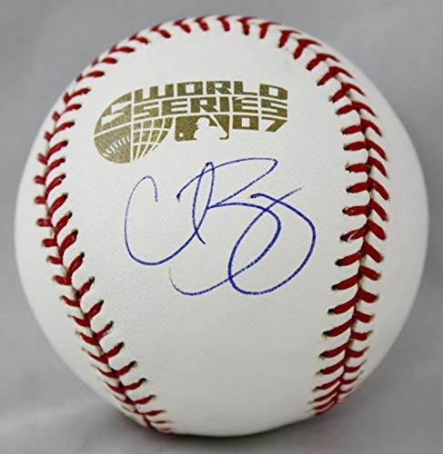 Autographed Curt Schilling Signed Rawlings Oml2007 World Series Baseball- Steiner Auth ()
