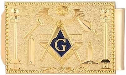 Jingchuan Money Clip - Freemasonic Mason Wallet Card Holder Masonic
