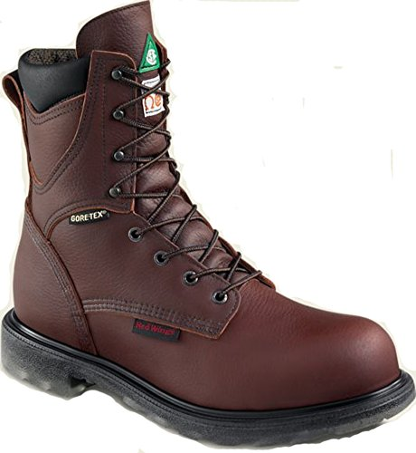 Red Wing Men's 2412 Electrical Hazard Insulated Steel Toe 8-inch Boot (8-D)