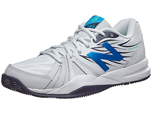 New Balance Men's Mc786 Gb2 Ankle-High Leather Tennis Shoe - 13W