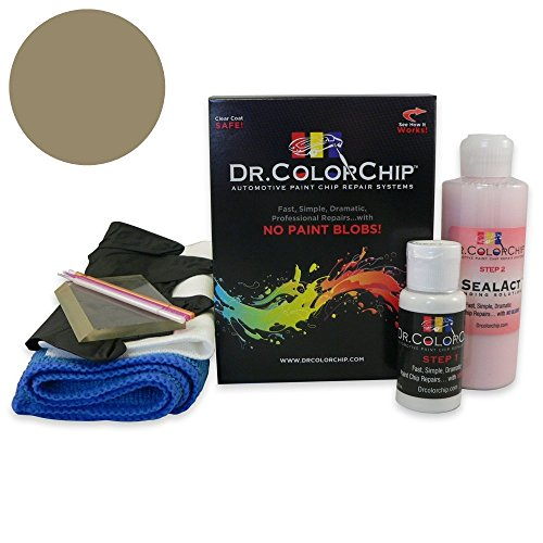 Dr. ColorChip Mercedes-Benz All Models Automobile Paint - Chinchilla Met (Trim) 8477 - Squirt-n-Squeegee Kit