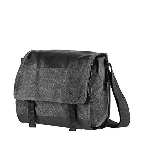 LEONHARD HEYDEN Gobi Shoulder Bag M Black Venta Recomienda Lxp2sLW7