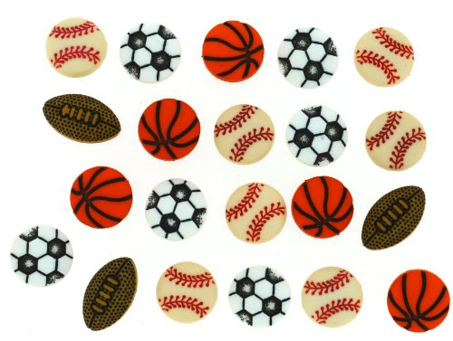 Dress It Up 2227 Tiny Sports Equipment Embellishment for Crafts ()