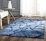 Safavieh Retro Collection RET2144-6570 Modern Abstract Blue and Dark Blue Area Rug (10′ x 14′) Review
