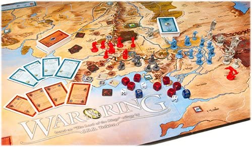 The War of the Ring Board Game by Vintage Sports Cards: Amazon.es: Juguetes y juegos