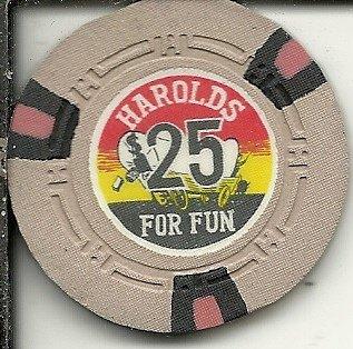 ($25 harolds club reno nevada casino chip obsolete)