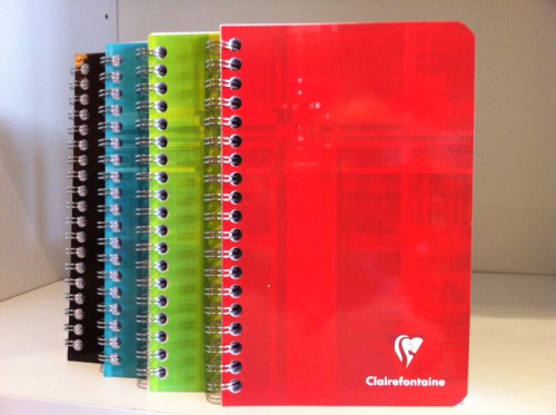 Clairefontaine Wirebound 180 pages 4.25x6.25 Notebook