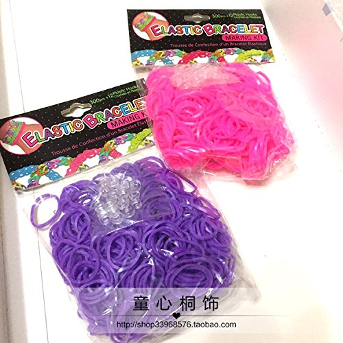 over 25 yuan female hair accessories for children of foreign trade treasure small hair tie rubber band hair Hair Rope Set for women girl (Foreign Treasures)