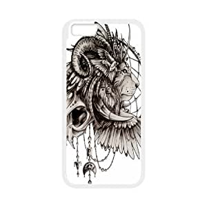 Andre-case Diy Customize Tribal Lion Pattern case cover cell phone Cover GN4pEMXPHkk case cover for iphone 4s
