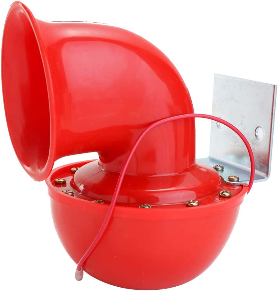 Elektrische Bull-Hupe 200 dB Rot 12 V
