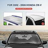 MOSTPLUS Roof Rack Cross Bar Rail for Honda CRV
