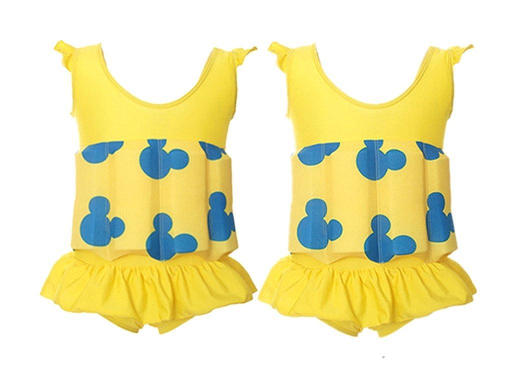 94df24918 Niños Flotante Bañadores Traje de Baño - Bebé Flotador Nadar Entrenador de  Una Pieza Chaleco de. Ampliar imagen
