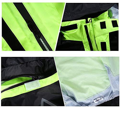 Adulto Spessore Pioggia Piedi Pantaloni Maschio size Xxxl Di Sella Diviso Motocicletta Tuta Moto Impermeabile In A Geyao Iwqp6FUxdI