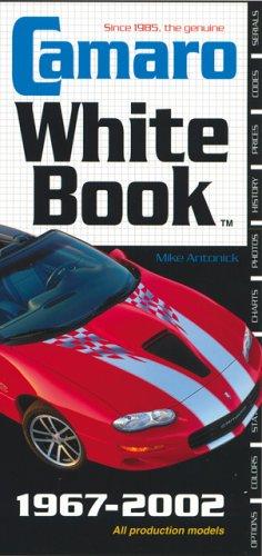 Camaro White Book