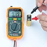 Digital Multimeter,PEAKMETER PM8232 Auto Ranging Digital Multimeter Smart DMM Measure AC/DC Voltage Tester with Backlight LCD and Test Leads, volt ohm meter