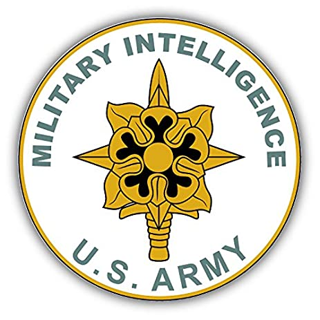 Military Intelligence US Army Seal Art Decor Vinyl Sticker 5