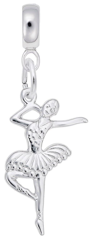 Engravable Ballet Dancer Rembrandt Charms