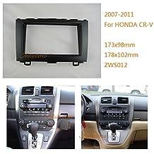 Autostereo Car Radio Mounting Audio Frame Fascia Adaptor for HONDA CR-V 2007-2011 Car Stereo Fascia in Dash CD Trim Installation Kit