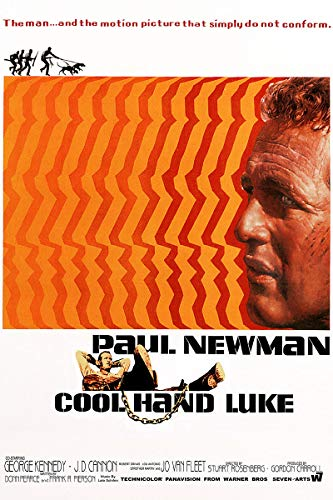 American Gift Services - Cool Hand Luke Vintage Paul Newman Movie Poster - 24x36