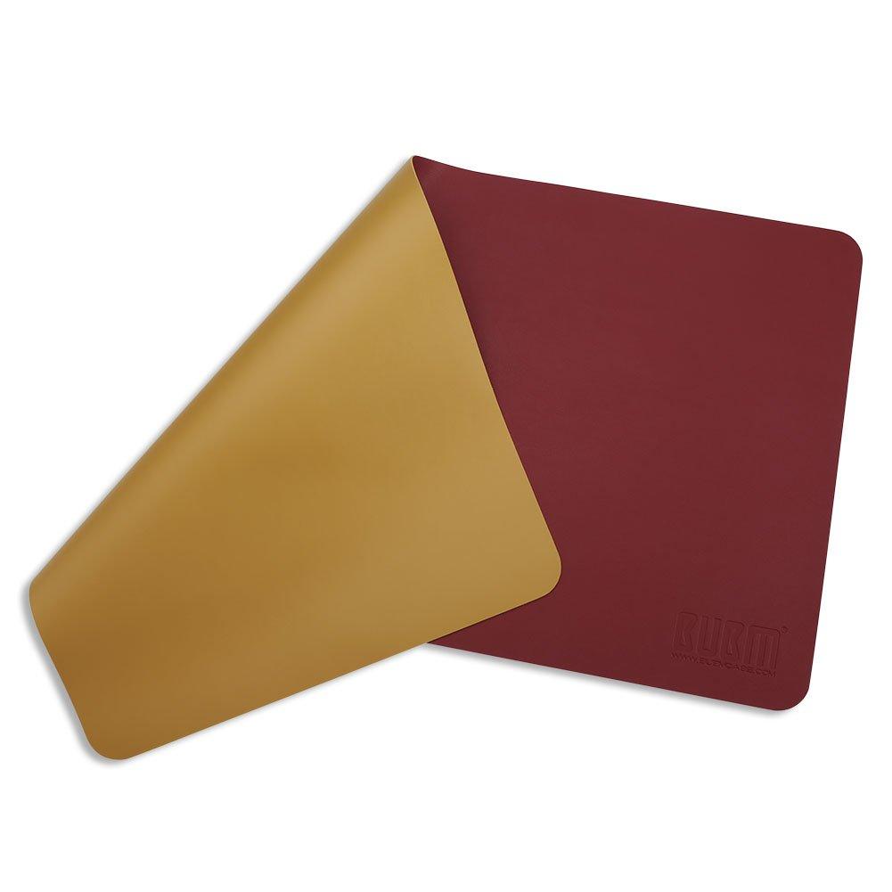 In PU D/à una sensazione di ordine Tappetino protettivo per la scrivania Con comoda superficie di scrittura 90x45cm Dark Green BUBM